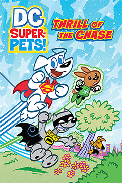 Cover for DC Super-Pets: Thrill of the Chase