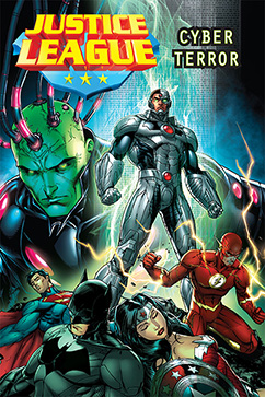 Cover for Justice League: Cyber Terror