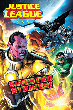 Cover for Justice League: Sinestro Strikes