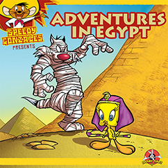 Cover for Looney Tunes: Adventures in Egypt
