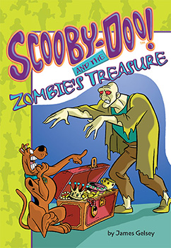 Cover for Scooby-Doo and the Zombie's Treasure