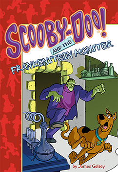 Cover for Scooby-Doo and the Frankenstein Monster