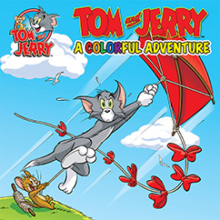 Cover for Tom and Jerry: A Colorful Adventure