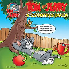 Cover for Tom and Jerry: A Counting Book