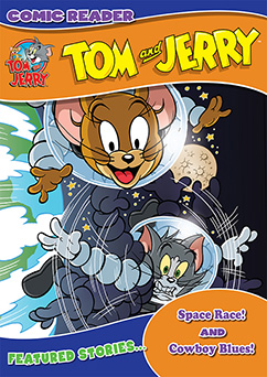 Cover for Tom and Jerry: Space Race/Cowboy Blues