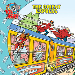 Cover for Tom and Jerry: The Orient Express