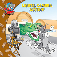 Cover for Tom and Jerry: Lights, Camera, Action!