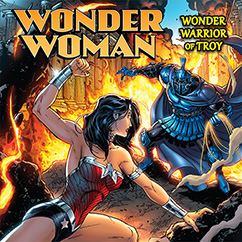 Cover for Wonder Woman: Wonder Warrior of Troy