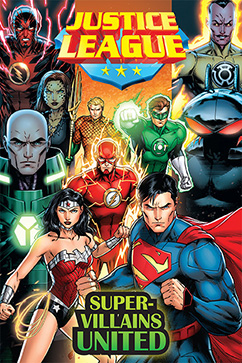 Cover for Justice League: Super Villains United