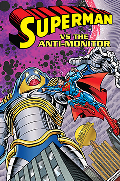 Cover for Superman vs. The Anti-Monitor