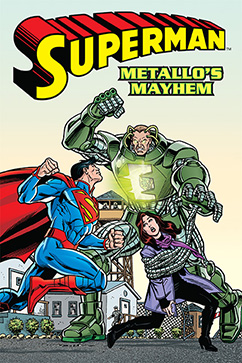 Cover for Superman: Metallo's Mayhem