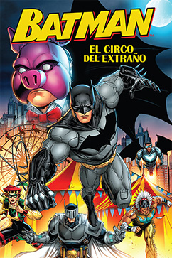 Cover for Batman: El Circo del Extraño