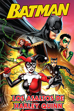 Cover for Batman: Los Asaltos de Harley Quinn
