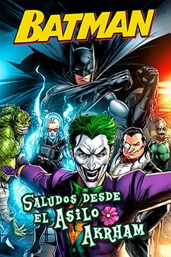 Cover for Batman: Saludos Desde El Asilo Arkham