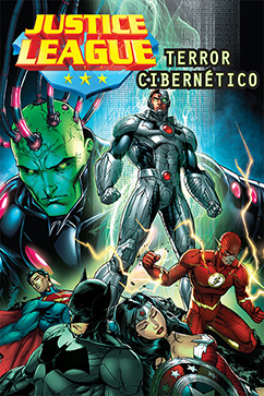 Cover for Justice League: Terror Cibernetico