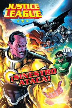 Cover for Justice League: Sinestro Ataca