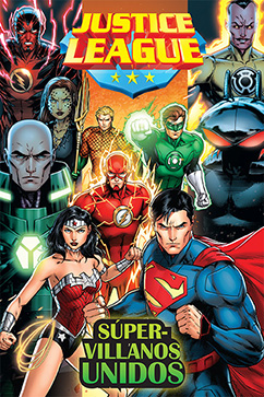 Cover for Justice League: Super Villanos Unidos