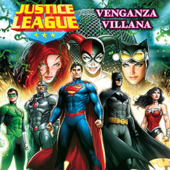 Cover for Justice League: Venganza Villana
