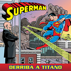 Cover for Superman: Derriba a Titano