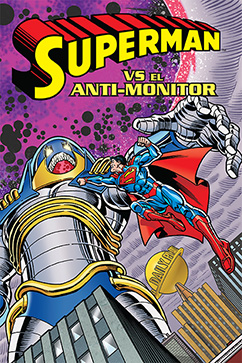 Cover for Superman vs. el Anti-Monitor
