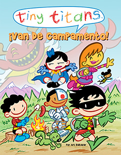 Cover for Tiny Titans: ¡Van de Campamento!