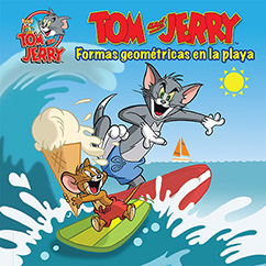 Cover for Tom and Jerry: Formas Géometricas en la Playa