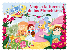 Cover for The Wizard of Oz: Viaje a la Tierra de los Munchkins
