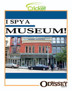 Cover for I Spy A Museum