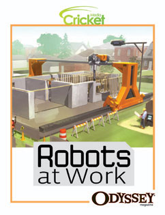 Cover for Robots at Work