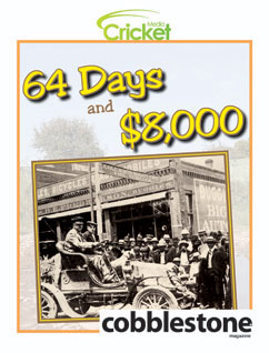 Cover for 64 Days and $8,000