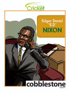 "Cover for Edgar Daniel ""E.D."" Nixon"