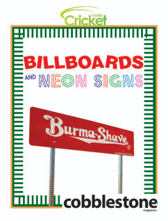 Cover for Billboards and Neon Signs