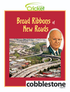 Cover for Broad Ribbons of New Roads