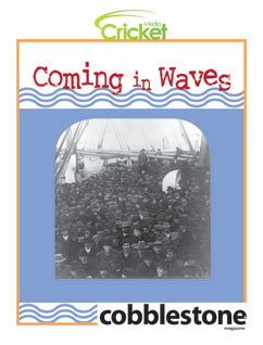 Cover for Coming in Waves