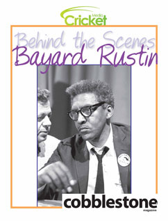 Cover for Behind the Scenes: Bayard Rustin