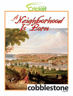 Cover for A Neighborhood Is Born