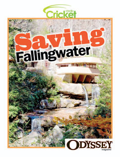 Cover for Saving Fallingwater