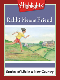 Cover for Rafiki Means Friend