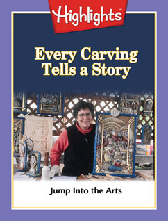 Cover for Every Carving Tells a Story