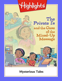 Cover for The Private I's and the Case of the Mixed-Up Message