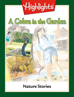 Cover for A Cobra in the Garden