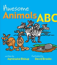 Cover for Awesome Animals ABC