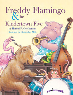 Cover for Freddy Flamingo & the Kindertown Five