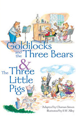 Cover for Goldilocks and Three Bears & The ThreeLittle Pigs