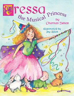 Cover for Tressa, the Musical Princess