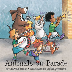 Cover for Animals on Parade