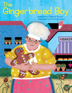 Cover for The Gingerbread Boy