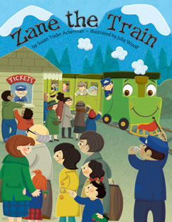 Cover for Zane the Train
