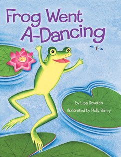 Cover for Frog Went A-Dancing