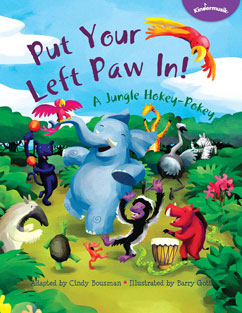 Cover for Put Your Left Paw In! A Jungle Hokey-Pokey